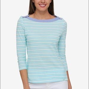 🌷 Tommy Hilfiger Ansley Sail Away top, size 0X 2X